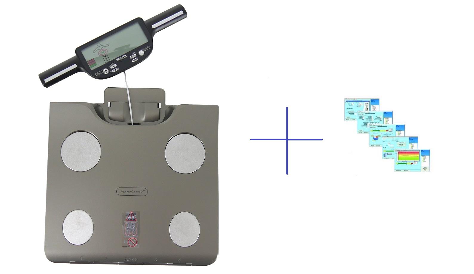 Osobní digitální váha Tanita BC-601 se slotem pro SD kartu a segmentální analýzou + software GMON pro BC a UM